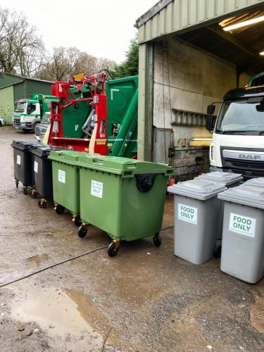 Waste collection by Hawkins  Scott